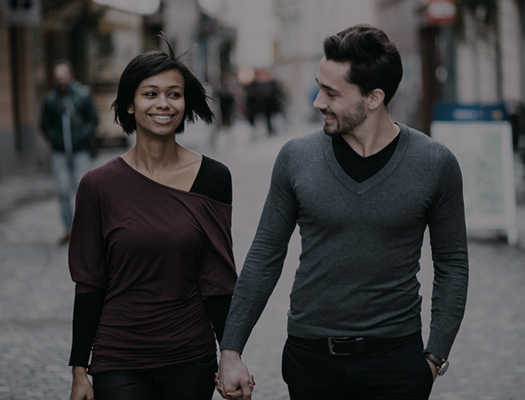 Couple-walking