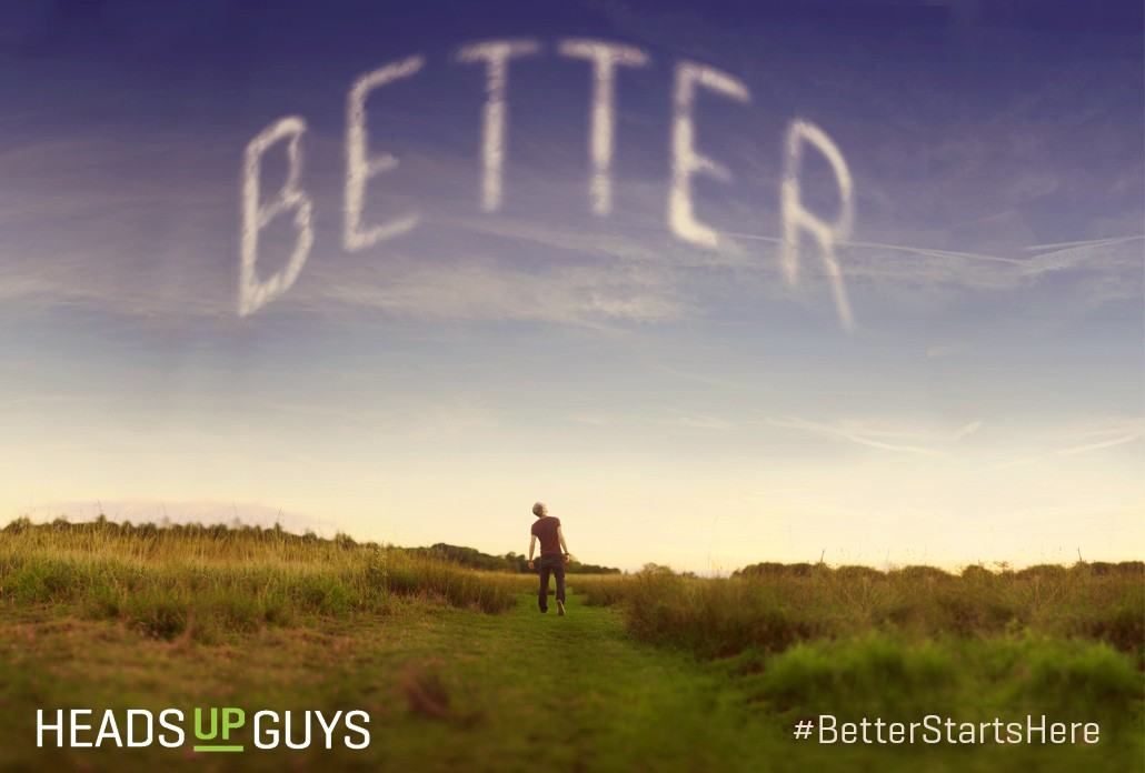 BetterStartsHere - Men's Depression Campaign
