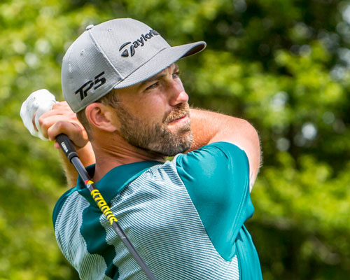 Andrew golfing