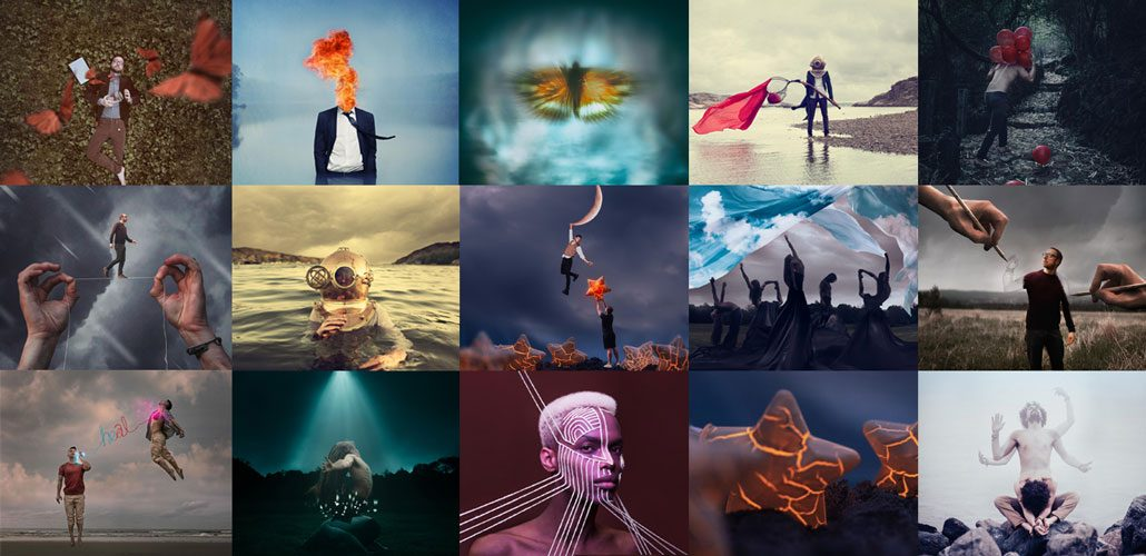 Collage of concept images