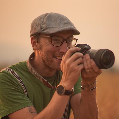Joel with camera