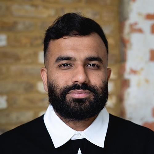 Portrait of Hussain